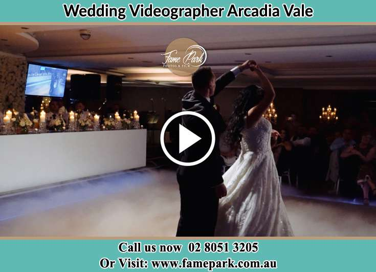 Bride and Groom first dance Arcadia Vale NSW 2283