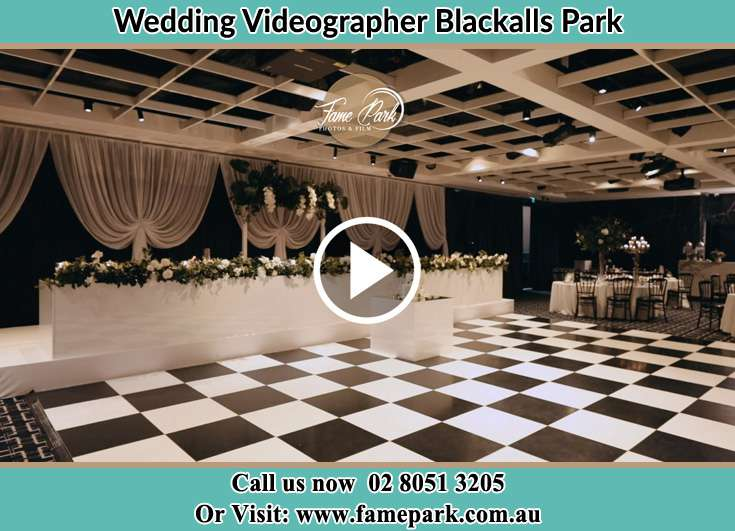 The reception venue Blackalls Park NSW 2283