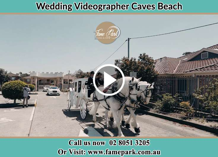 The wedding carriage Caves Beach NSW 2281