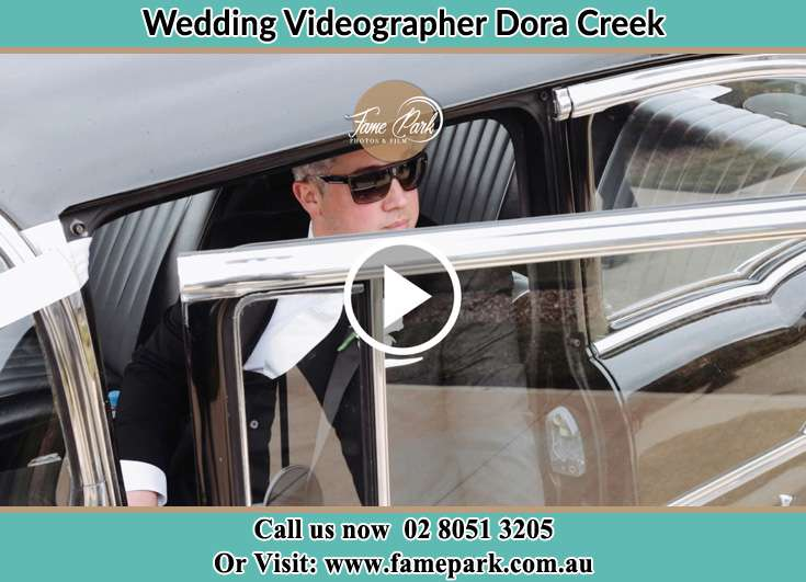 Groom inside the car Dora Creek NSW 2264