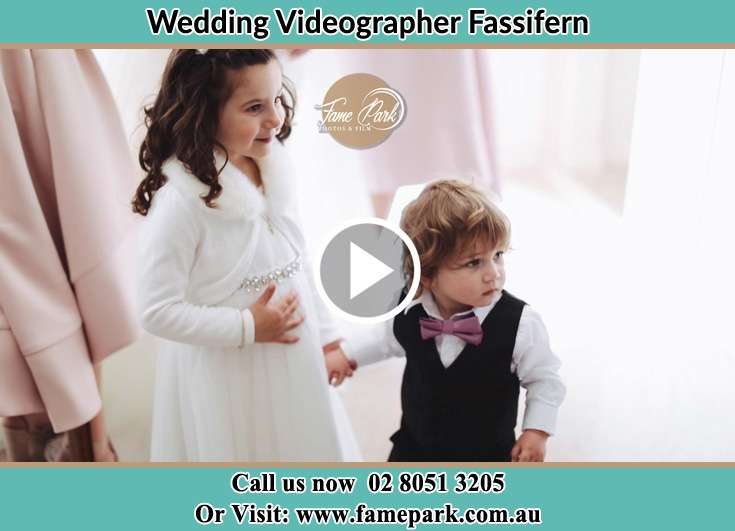 Flower girl and the ring bearer Fassifern NSW 2283