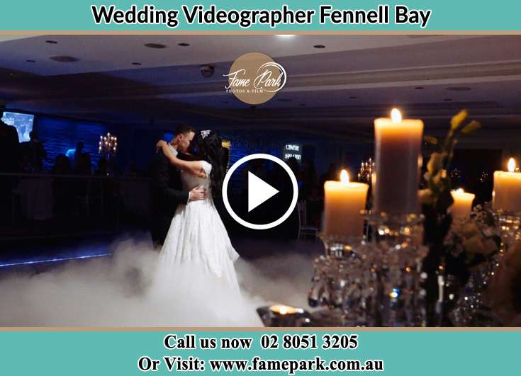 The newlyweds dancing Fennell Bay NSW 2283