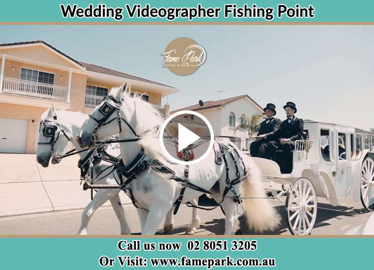 The wedding carriage Fishing Point NSW 2283