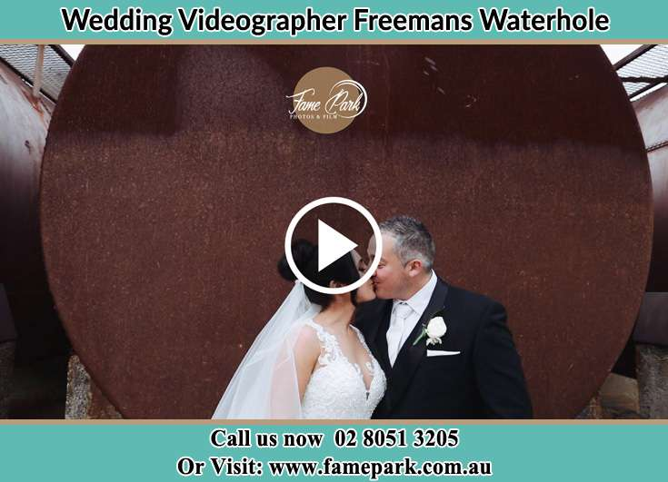 The new couple kissing Freemans Waterhole NSW 2323