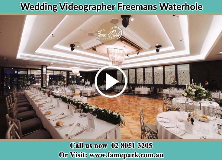 The reception venue Freemans Waterhole NSW 2323