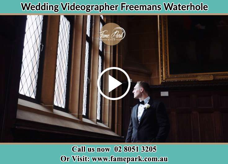 Groom already prepared Freemans Waterhole NSW 2323
