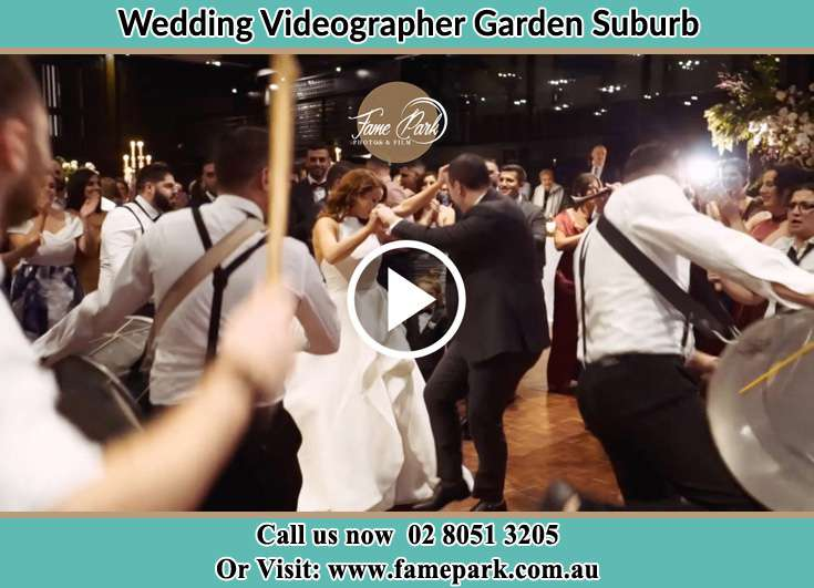 Bride and Groom at the dance floor Garden Suburb NSW 2289