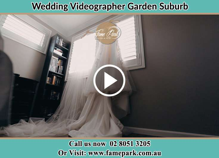 The wedding gown at the window Garden Suburb NSW 2289
