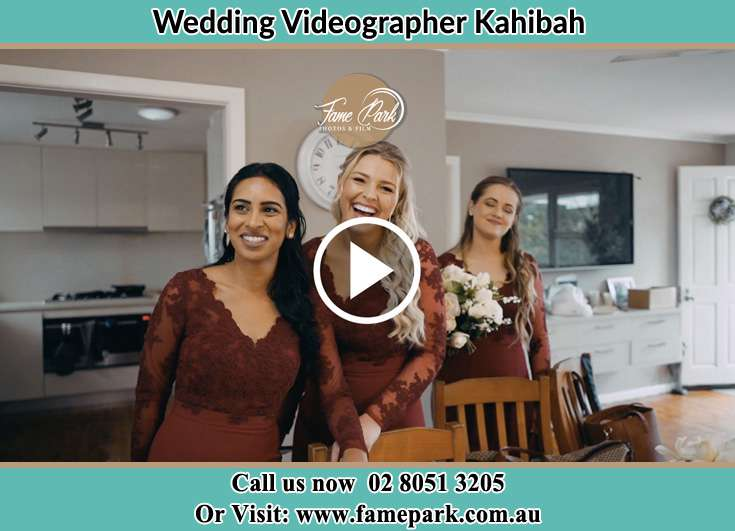 The bridesmaids smiling Kahibah NSW 2290