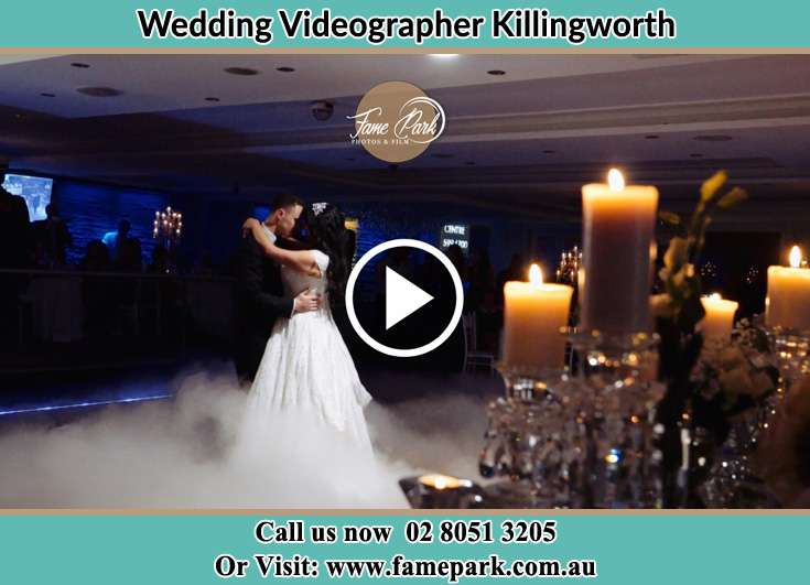 The newlyweds dancing Killingworth NSW 2278