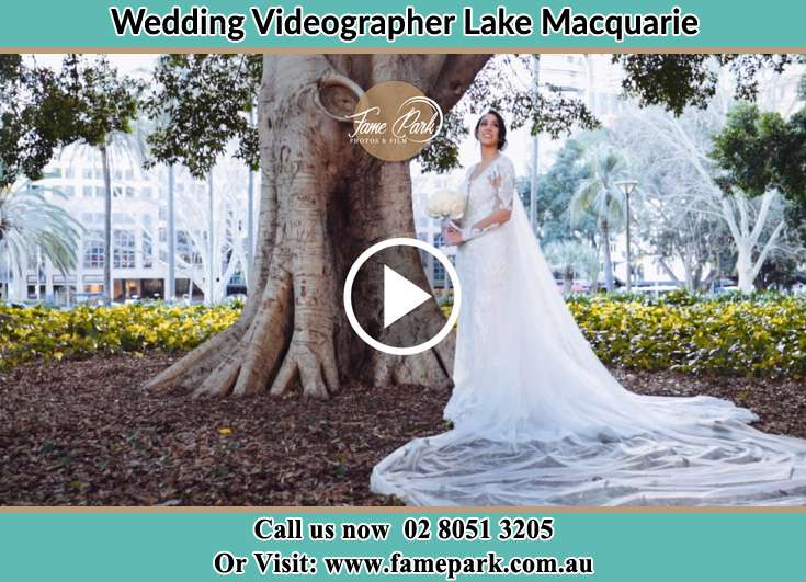 The Bride Under The Big Tree Lake Macquarie
