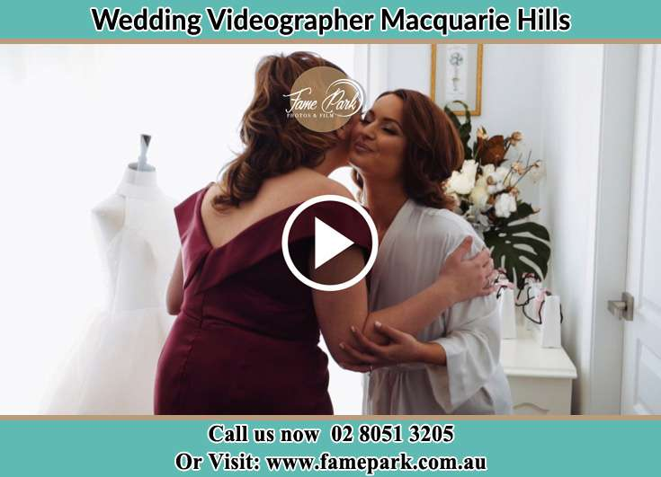 The Bride kiss by her mother Macquarie Hills NSW 2285