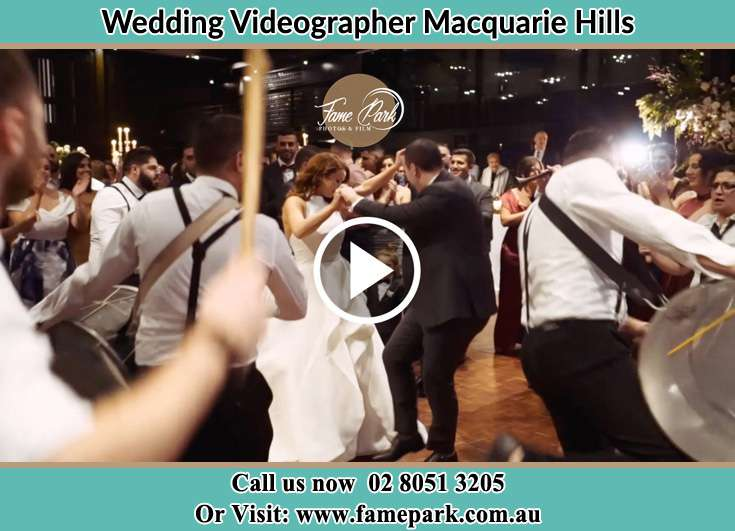 Bride and Groom at the dance floor Macquarie Hills NSW 2285