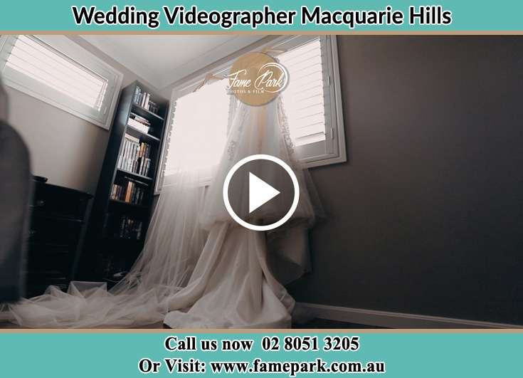 The wedding gown at the window Macquarie Hills NSW 2285