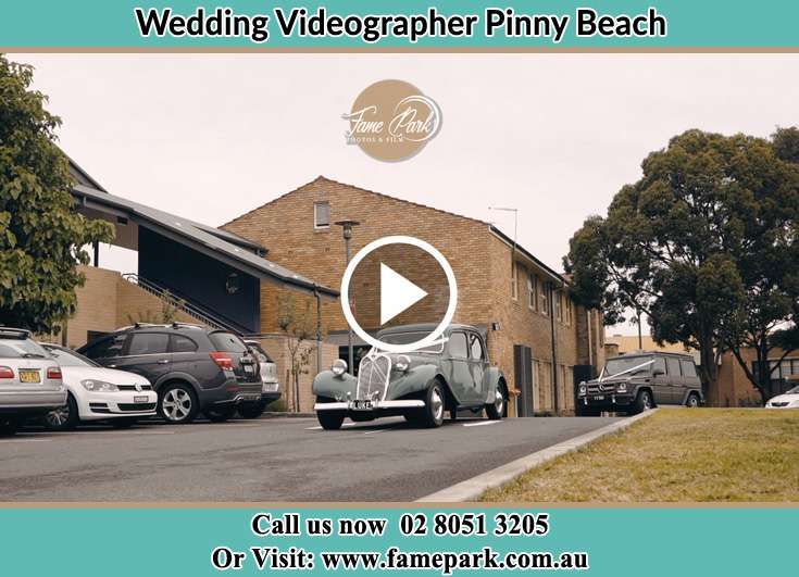 The wedding car Pinny Beach NSW 2281