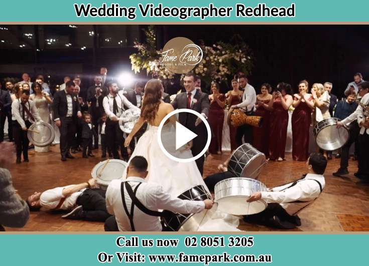 Bride and Groom at the dance floor Redhead NSW 2290