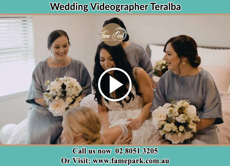 Bride and her secondary sponsors Teralba NSW 2284