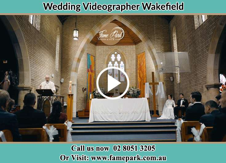 During the wedding ceremony Wakefield NSW 2278