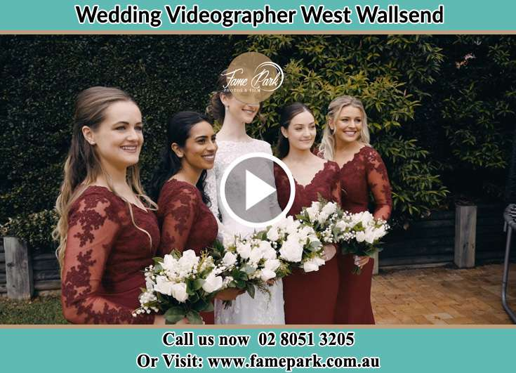 Bride and her secondary sponsors West Wallsend NSW 2286