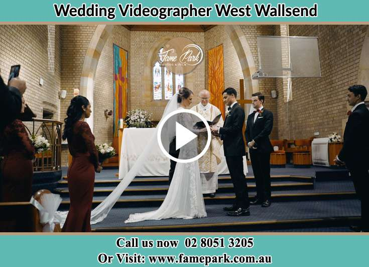 During the wedding ceremony West Wallsend NSW 2286