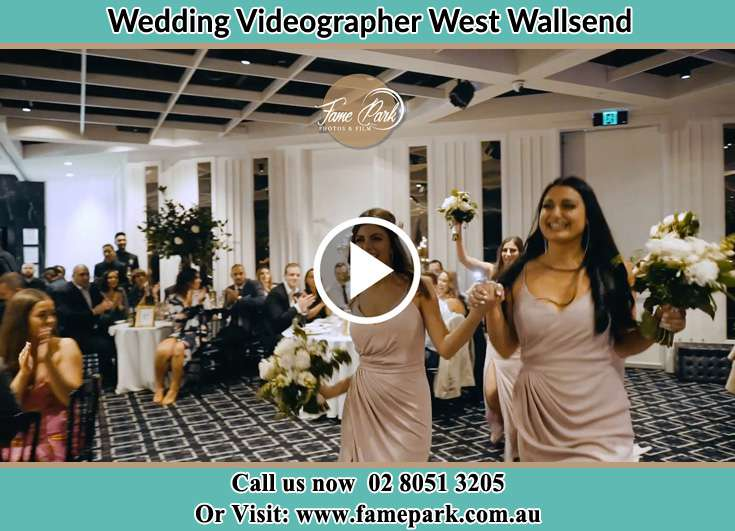 The bridesmaids dancing West Wallsend NSW 2286