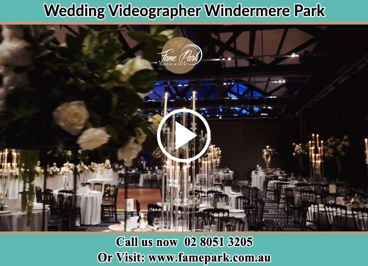 The reception venue Windermere Park NSW 2264