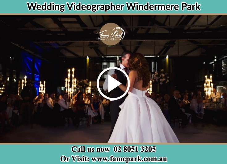 Bride and Groom looking at each other while dancing Windermere Park NSW 2264